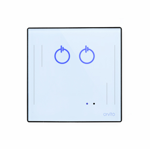2 Gang Smart Switch Panel