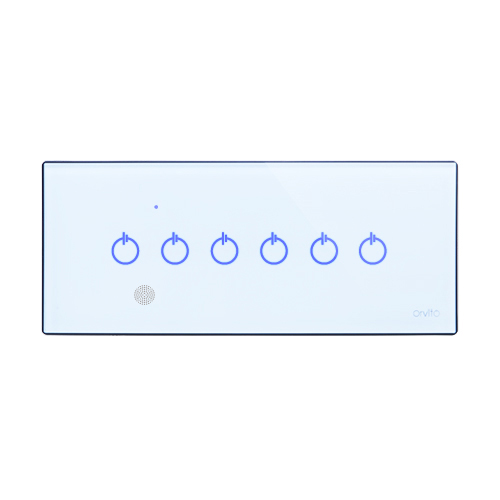 6 Gang Smart Switch Panel with IR