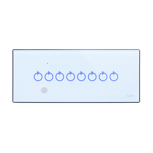 8 Gang Smart Switch Panel with IR